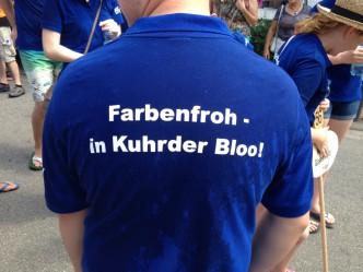 Farbenfroh - in Kuhrder Bloo!